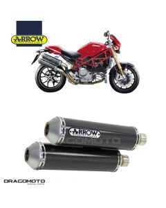 Exhaust MONSTER S4R / MONSTER S2R 800 ROUND-SIL