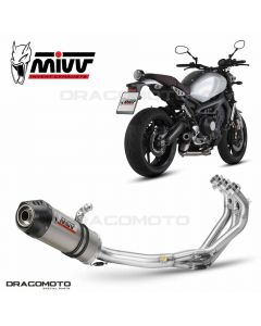 Full exhaust XSR 900 OVAL
