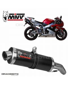 Exhaust YZF 1000 R1 OVAL High up