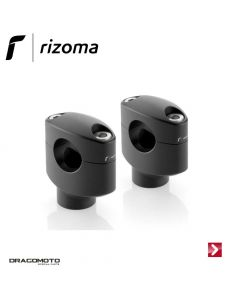 Kit Riser (Ø 25.4 mm / H 42 mm) Black Rizoma AZ430B
