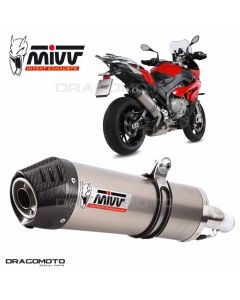 Exhaust S 1000 XR OVAL High up