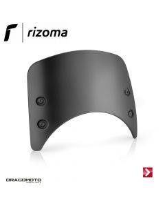 Low headlight fairing Black Rizoma Aluminium CF011B