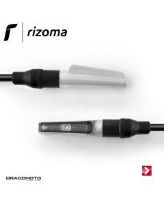 Direction indicator Corsa (1 function) Silver Rizoma FR110A