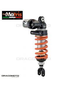 Shock absorber MATRIS APRILIA DORSODURO 750 / DORSODURO 1200 / DORSODURO 900 MA108.02IS M46K Orange/Black