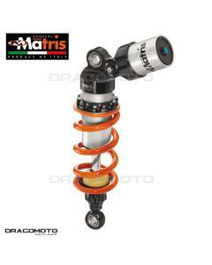Shock absorber MATRIS APRILIA DORSODURO 750 / DORSODURO 1200 / DORSODURO 900 MA108.02K M46K Orange/Black