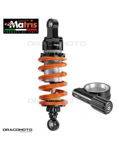 Shock absorber MATRIS MOTO GUZZI BELLAGIO 940 2007-2014 MM113.1KDIK M46KD Orange/Black