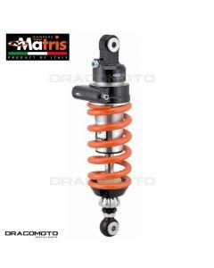 Shock absorber MATRIS APRILIA DORSODURO 750 / DORSODURO 1200 / DORSODURO 900 MA108.1KDIS M46KD Orange/Black