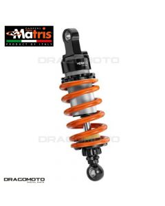 Shock absorber MATRIS DUCATI HYPERMOTARD 1100 / HYPERMOTARD 1100 EVO SP MD109.2KD M46KD Orange/Black