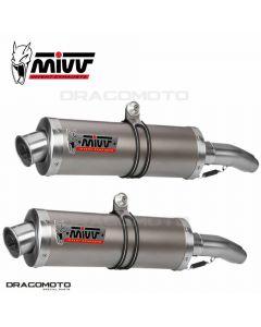 2 Exhaust TDM 900 OVAL