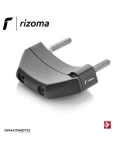 Shape engine case guard Left Black Rizoma PM118B