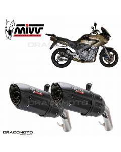 2 Exhaust TDM 900 SUONO